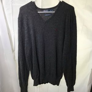 Polo by Ralph Lauren Grey Sweater Size XL